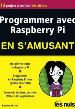 Livres Couvertures de Programmer avec Raspberry Pi pour les Nuls en s'amusant mégapoche