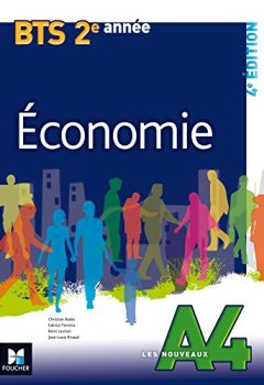 Livres Couvertures de Les Nouveaux A4 - ECONOMIE - BTS 2e année