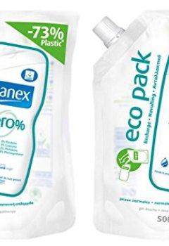 Livres Couvertures de Sanex Douche et Bain Peaux Normales Recharge de 500 ml - Lot de 2