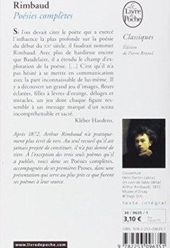 Livres Couvertures de Rimbaud : Poésies complètes