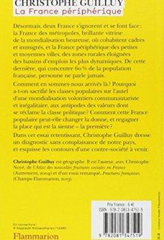 Livres Couvertures de La France périphérique : Comment on a sacrifié les classes populaires