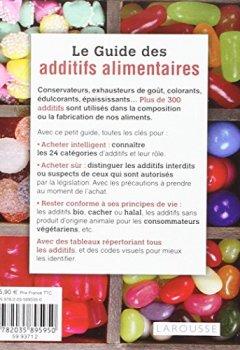 Livres Couvertures de Le guide des additifs alimentaires