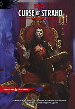 Livres Couvertures de Curse of Strahd: A Dungeons & Dragons Sourcebook
