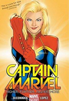 Livres Couvertures de Captain Marvel Vol. 1: Higher, Further, Faster, More