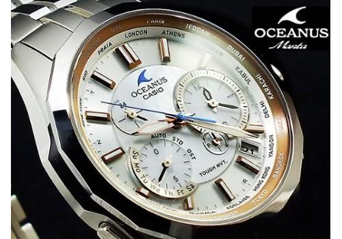 カシオ CASIO オシアナス マンタ 電波ソーラー アナログ 腕時計 OCW-S2400PG-7AJF 国内正規品
