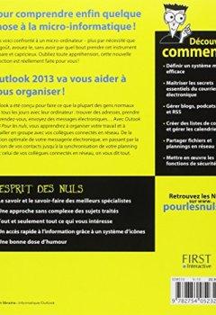 Livres Couvertures de Outlook 2013 Pour les Nuls