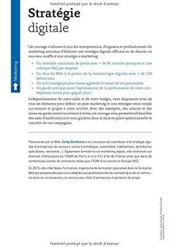 Livres Couvertures de Stratégie digitale : Comment acquérir, convertir et fidéliser vos clients sur le Web