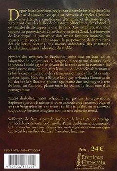 Livres Couvertures de Le Baphomet: Figure de l'ésotérisme templier et de la Franc-maçonnerie