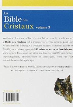 Livres Couvertures de La bible des cristaux : Volume 3