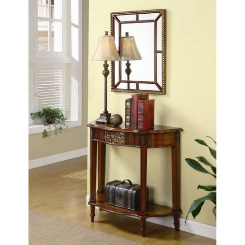 Image of Coaster Furniture 900155 3 Pieces Traditional Console Table Set in Brown 900155 (B008A1IG84)