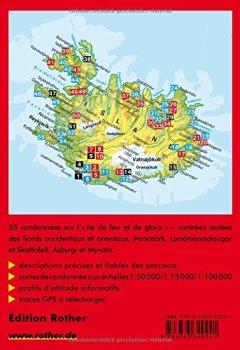 Livres Couvertures de Islande : 50 randonnées sélectionnées sur