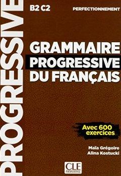 Livres Couvertures de Grammaire progressive du français - Niveau perfectionnement - Livre - Nouvelle couverture