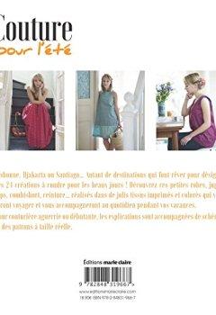 Livres Couvertures de Couture pour l'été