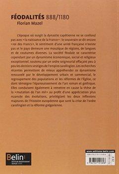 Livres Couvertures de Féodalités (888-1180) - Format compact