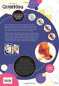 Livres Couvertures de Animal Querkles: A puzzling colour-by-numbers book