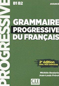 Livres Couvertures de Grammaire progressive du français - Niveau avancé - Livre + CD - 2ème édition Nouvelle couverture