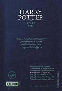 Livres Couvertures de Harry Potter, IV : Harry Potter et la Coupe de Feu