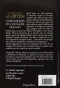 Livres Couvertures de Chroniques du chevalier errant : 90 ans avant le Trône de Fer (Game of Thrones)