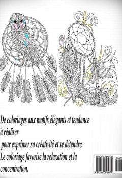 Livres Couvertures de Attrape-reves - coloriages pour adultes: Coloriage anti-stress