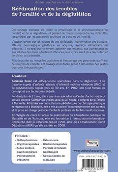 Livres Couvertures de Rééducation des troubles de l'oralité et le la déglutition