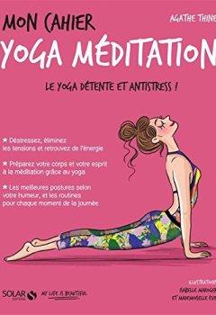 Livres Couvertures de Mon cahier Yoga méditation