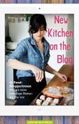 Buchdeckel von New Kitchen on the Blog: 11 Food-Bloggerinnen stellen eine trendige Naturküche vor