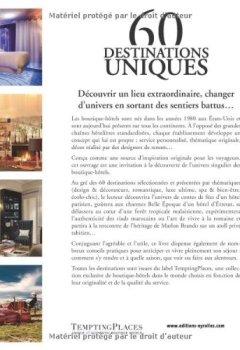 Livres Couvertures de 60 destinations uniques : La plus belle sélection de boutique-hôtels à travers le monde