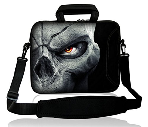 Waterfly-Universal-Cool-Skull-Pattern-16-17-173-174-inch-Laptop-Notebook-Neoprene-Laptop-soft-Bag-Sleeve-Case-cover-pouch-for-Dell-17R-Inspiron-Vostro-XPS-Alienware-M17x-lenovo-Samsung-700-Sony-Vaio-E
