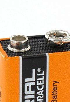 Livres Couvertures de Duracell Industrial Alkaline Batterie Block 9V 6LF22, 5 pieces