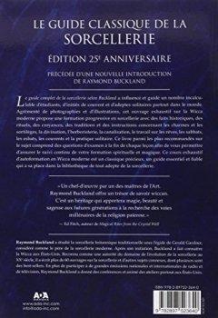 Livres Couvertures de Le guide complet de la sorcellerie selon Buckland - Le cours classique de wicca depuis 25 ans