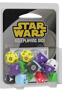 Livres Couvertures de Star Wars: Edge of the Empire RPG Dice Pack