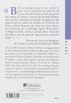 Livres Couvertures de Le Dernier Ennemi : Bataille d'Angleterre, juin 1940-mai 1941