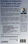 Livres Couvertures de Entretien d'embauche : les 5 étapes clefs pour convaincre et réussir