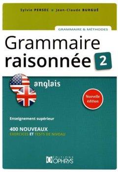 Livres Couvertures de Grammaire Raisonnee 2 - Anglais