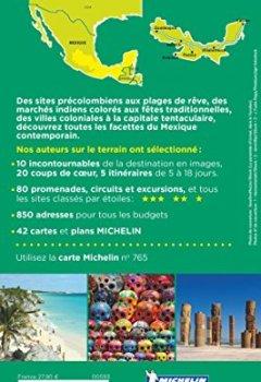 Livres Couvertures de Guide Vert Mexique Michelin