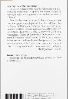 Livres Couvertures de Les mythes platoniciens