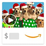Amazon eGift Card - Caroling Canines (Animated) [American Greetings] [American Greetings]