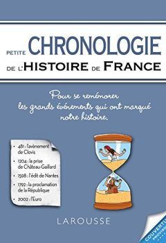 Livres Couvertures de Petite Chronologie de l'histoire de France