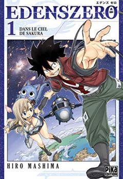 Livres Couvertures de Edens Zero T01: Dans le ciel de Sakura