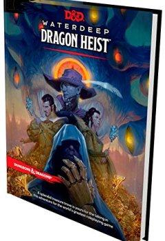 Livres Couvertures de D&D Waterdeep Dragon Heist HC
