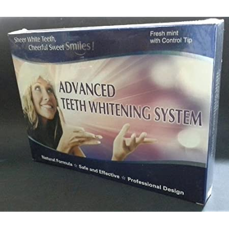 Get fast results using this professional teeth whitening gel in the comfort of your own home.  Our at home kit includes 4 3cc syringes of 44% carbamide peroxide gel which is the same strength used by most dentists and professionals. Also included in ...