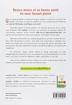 Livres Couvertures de Les recettes du régime IG