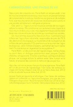 Livres Couvertures de L'agroécologie : Une éthique de vie