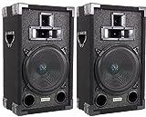 2) VM Audio 3-Way DJ Passive Loud Speakers PA System