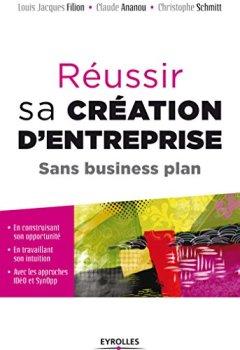 Livres Couvertures de Réussir sa création d'entreprise sans business plan: En construisant son opportunité, en travaillant son intuition, avec les approches IDéO et SynOpp - ... par le Collège de Labellisation de la FNEGE