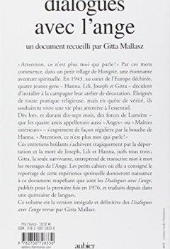 Livres Couvertures de Dialogues avec l'ange, édition intégrale