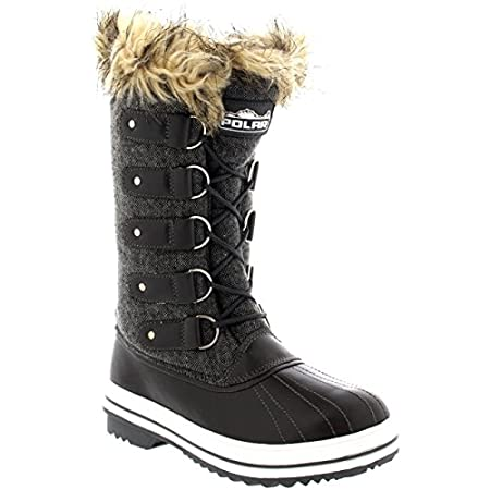 Polar's cold weather footwear are a must have essential of the winter wardrobe. Ideal casual outdoor footwear for those cold winter days and suitable for those participating winter activities. This mid calf boot has a plain upper, lace up design with...