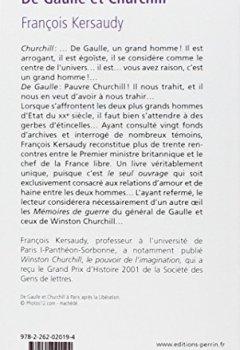 Livres Couvertures de De Gaulle et Churchill