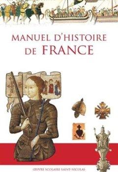 Livres Couvertures de Manuel d'histoire de France (Nouvelle édition)