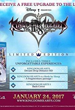 Livres Couvertures de Kingdom Hearts 2.8 - édition limitée